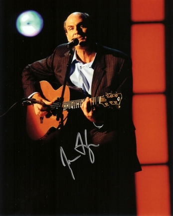 "James Taylor Autographed 8"" x 10"" Photograph (Unframed)"