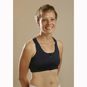 Janac ANNA5785 Anna Mastectomy Sports Bra White - Large