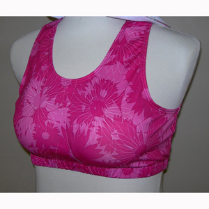 Janac LORA5350 Loraine Mastectomy Sports Bra Pink - Extra Large