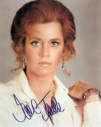 "Jane Fonda Autographed 8"" x 10"" Photograph (Unframed)"