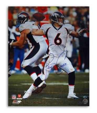 "Jay Cutler Denver Broncos Autographed 16"" x 20"" Photograph (Unframed)"