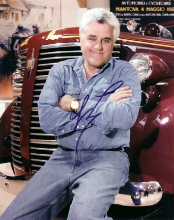 "Jay Leno Autographed 8"" x 10"" Photograph (Unframed)"