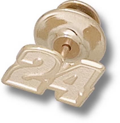 "Jeff Gordon ""24"" 5/16"" Small Lapel Pin - 10KT Gold Jewelry"