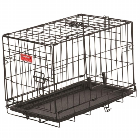 Jewett Cameron Company ZW 11522 22 in. Long Training Crate with 2 Door