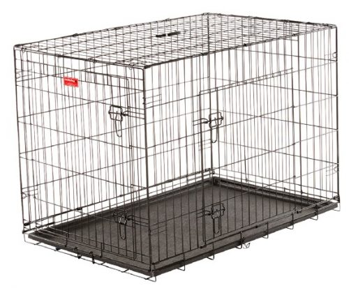 Jewett Cameron Company ZW 11542 42 in. Long Training Crate with 2 Door