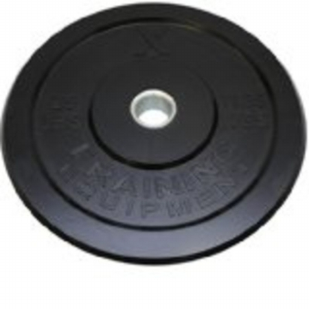 Jfit 20-6625 25 lbs. rubber bumper plate