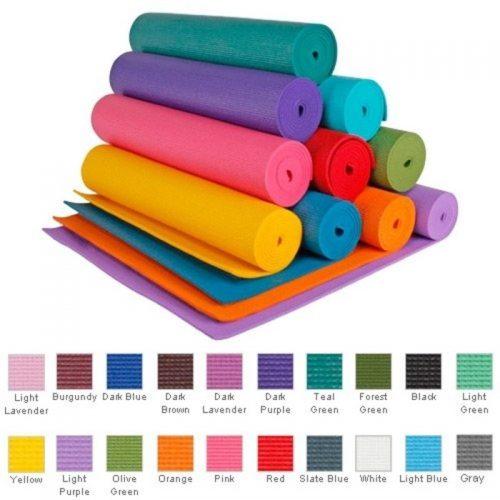 Jfit 80-8600-ROS Pilates Mat Rose