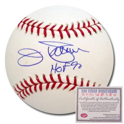 "Jim Palmer Autographed Rawlings MLB Baseball with ""HOF 90"" Inscription"