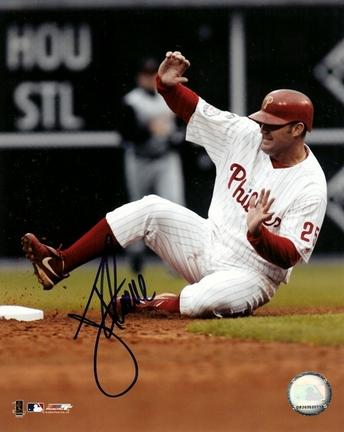 "Jim Thome Autographed Philadelphia Phillies 8"" x 10"" Photograph (Unframed)"