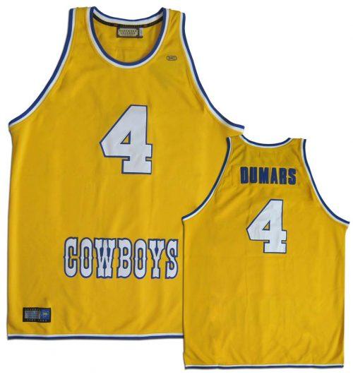 Joe Dumars McNeese State Cowboys Hardwood Legends Throwback Basketball Jersey