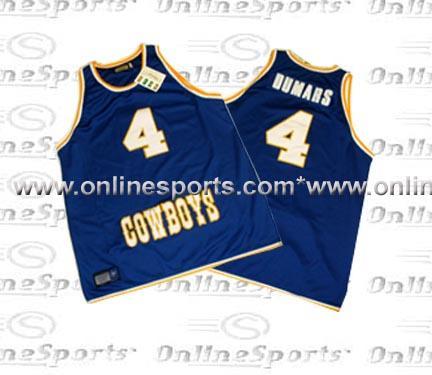 Joe Dumars McNeese State Cowboys Hardwood Legends Throwback Blue Basketball Jersey (Sizes 4X-Large - 5X-Large)