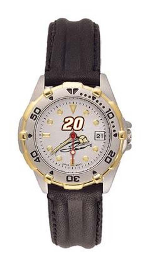 Joey Logano NASCAR Women's All Star Watch with Leather Band