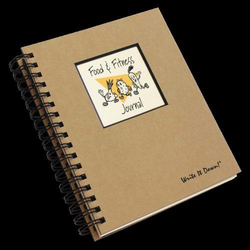 Journals Unlimited JU-43 Food & Fitness Journal