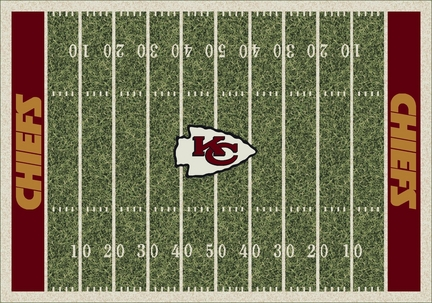 "Kansas City Chiefs 3' 10"" x 5' 4"" Home Field Area Rug"