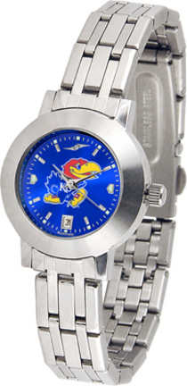 Kansas Jayhawks Dynasty AnoChrome Ladies Watch