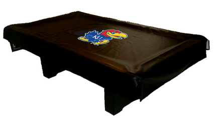 Kansas Jayhawks MVP Universal Fit Billiard Table Cover
