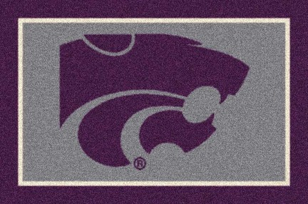"Kansas State Wildcats 3'10""x 5'4"" Team Spirit Area Rug"