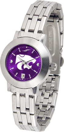 Kansas State Wildcats Dynasty AnoChrome Ladies Watch