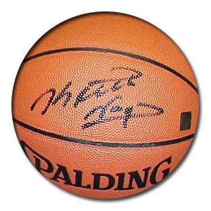 Keith Van Horn Autographed Spalding Indoor / Outdoor Basketball