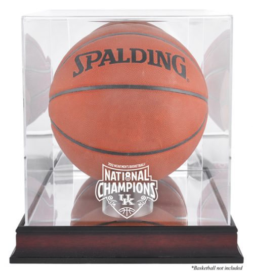 Kentucky Wildcats 2012 Men's NCAA National Champions Antique Mahogany Basketball Display Case
