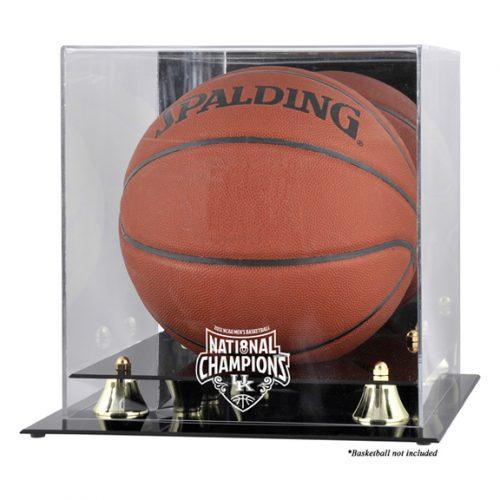Kentucky Wildcats 2012 Men's NCAA National Champions Golden Classic Basketball Display Case