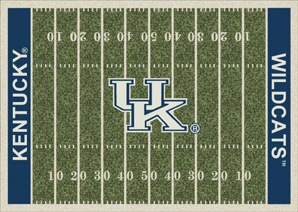 "Kentucky Wildcats 3' 10"" x 5' 4"" Home Field Area Rug"