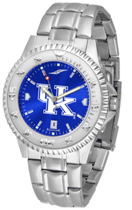 Kentucky Wildcats Competitor AnoChrome Men's Watch with Steel Band