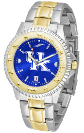 Kentucky Wildcats Competitor AnoChrome Two Tone Watch