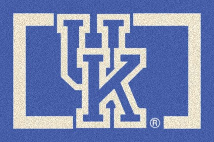 "Kentucky Wildcats ""Horizontal"" 3'10""x 5'4"" Team Spirit Area Rug"