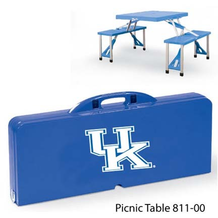 Kentucky Wildcats Portable Folding Table and Seats