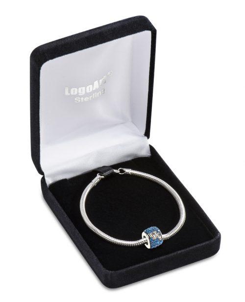 Kentucky Wildcats Premier Bead Charm with Bracelet