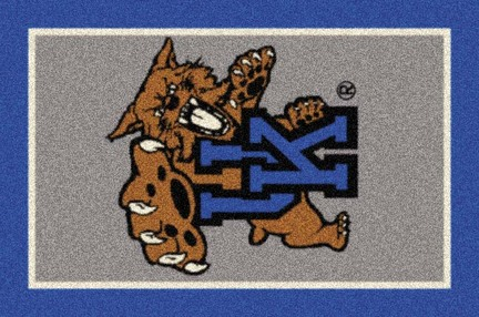 "Kentucky Wildcats ""Vertical"" 3'10""x 5'4"" Team Spirit Area Rug"