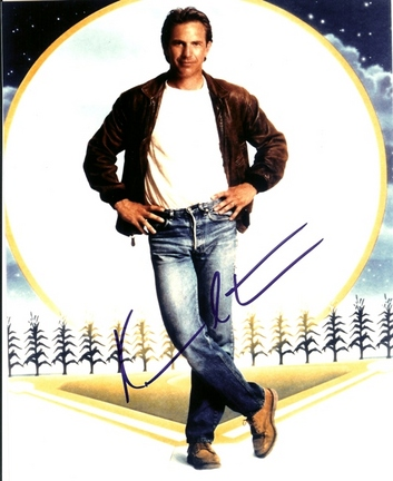 """Kevin Costner Autographed """"Field of Dreams"""" 8"""" x 10"""" Photograph (Unframed)"""