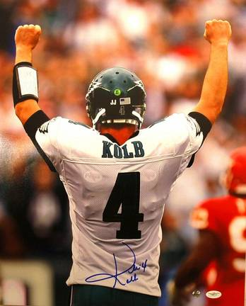"Kevin Kolb Philadelphia Eagles Autographed ""Back"" 16"" x 20"" Unframed Photograph"