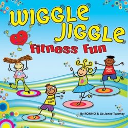 Kimbo Educational KIM9322CD New Wiggle Jiggle Fitness Fun Fitness Song CD