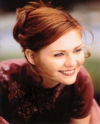 "Kirsten Dunst Autographed 8"" x 10"" Photograph (Unframed)"