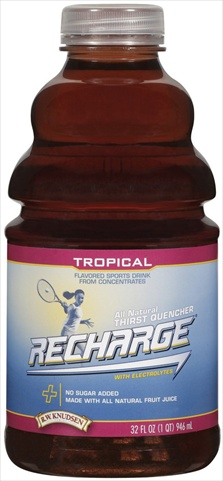 Knudsen Tropical Recharge Pet 32 Oz -Pack of 12