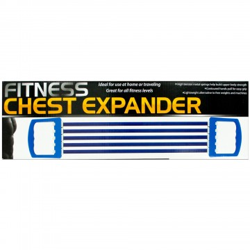 Kole Imports OS271-12 Fitness Chest Expander 12 Piece