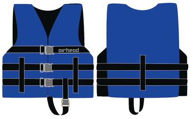 Kwik Tek 10002-02-A-BL Airhead Child General Life Jacket - Blue
