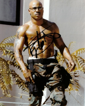 "LL Cool J Autographed 8"" x 10"" Photograph (Unframed)"