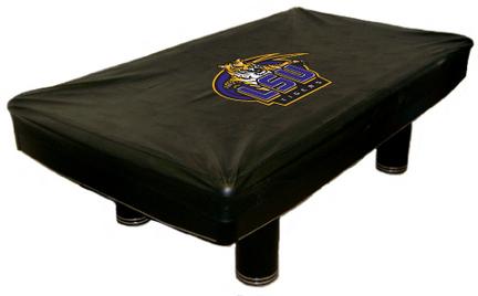 LSU Tigers MVP Universal Fit Billiard Table Cover