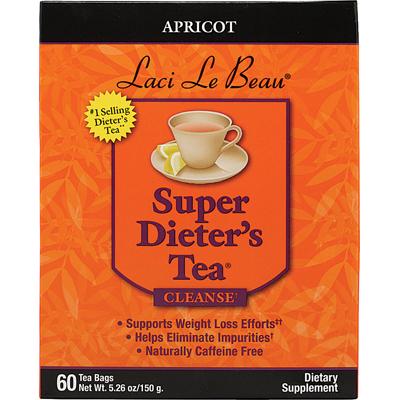 Laci Le Beau Super DieterS Tea Apricot - 60 Tea Bags - SPu791442