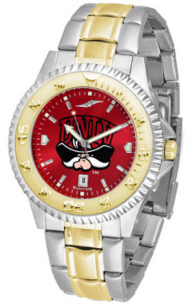 Las Vegas (UNLV) Runnin' Rebels Competitor AnoChrome Two Tone Watch