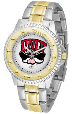 Las Vegas (UNLV) Runnin' Rebels Competitor Two Tone Watch