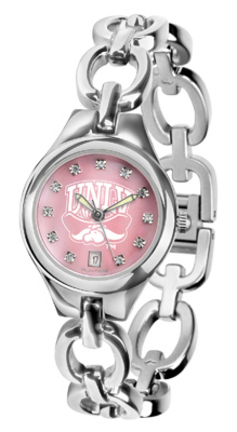 Las Vegas (UNLV) Runnin' Rebels Eclipse Ladies Watch with Mother of Pearl Dial