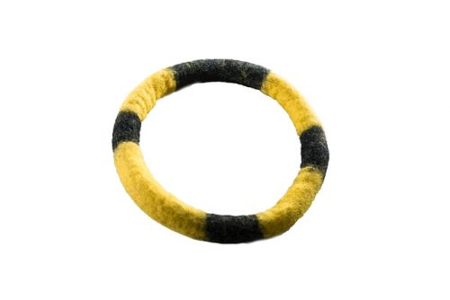 Le Sharma LSBR-05 7 in. Eco-Ring Black & Yellow
