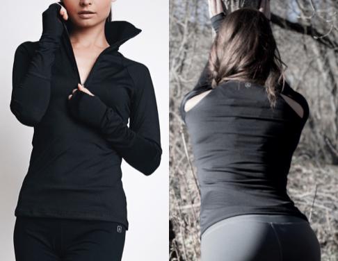 LeaLee Apparel DLSB103 Womens Dahlia Long Sleeve Pullover Shirt Black - Medium