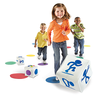 Learning Resources LER1883 Ready Set Move Classroom Activity Set