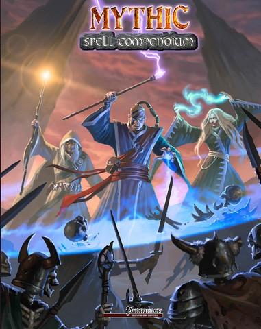 Legendary Games Jason Nelson LG2002MSC Mythic Spell Compendium