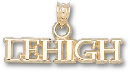 "Lehigh Mountain Hawks ""Lehigh"" Pendant - 10KT Gold Jewelry"